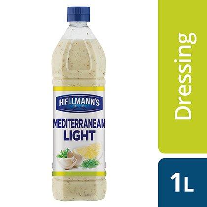 Hellmannu0027s Mediterranean Light Salad Dressing