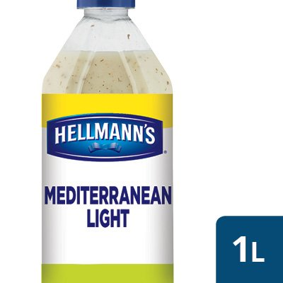 Hellmann's Mediterranean Light Salad Dressing