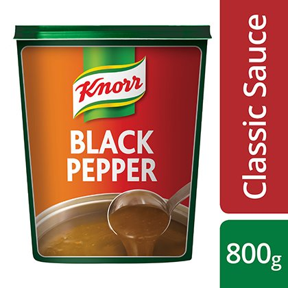 Knorr Classic Black Pepper Sauce