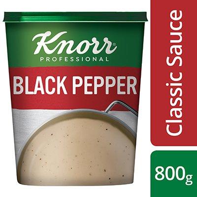 Knorr Professional Black Pepper Sauce Powder, 800 g  -