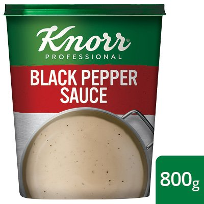 Knorr Professional Black Pepper Sauce Powder, 800 g  -