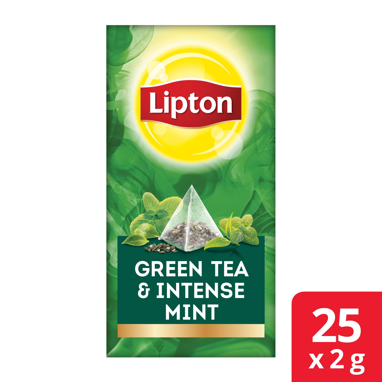 Lipton Green Tea & Intense Mint  -