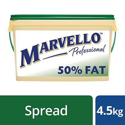 Marvello Medium Fat Spread 4.5kg
