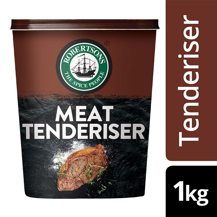 Robertsons Meat Tenderizer  - BEST Meat Tenderizer Spice, used by Chefs! ROBERTSONS Meat Tenderizer. For the juiciest & softest Meat. Used on all cuts of MEAT.  Conveniently order Online.