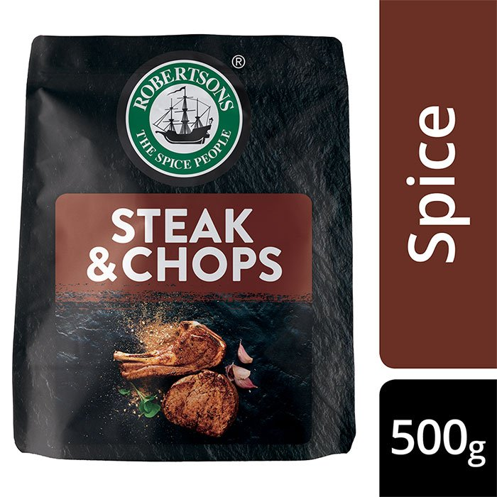 Robertsons Steak & Chops Spice Pouch