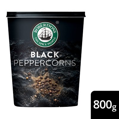 Robertsons Whole Black Peppercorns