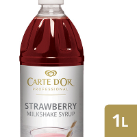 CARTE D'OR Strawberry Flavoured Milkshake Syrup