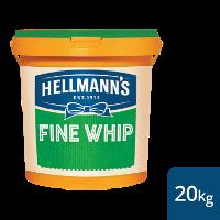 Hellmann's Fine Whip Salad Cream 20kg