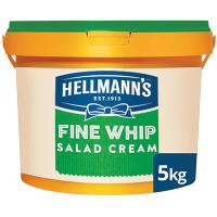 Hellmann's Fine Whip Salad Cream 5kg