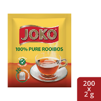 JOKO 100% Pure Rooibos 200 x 2 g Envelopes