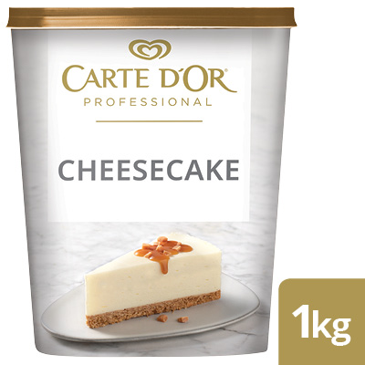 CARTE D'OR Cheesecake  - Here's a range of convenient, high-quality desserts that will save you time.