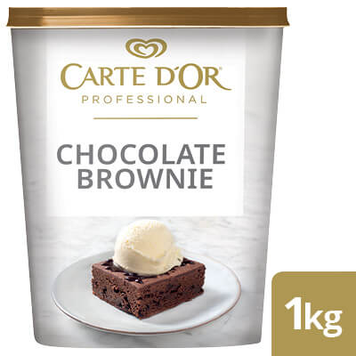 CARTE D'OR Chocolate Brownie  - Here's a range of convenient, high-quality desserts that will save you time.
