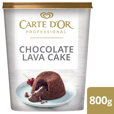 CARTE D'OR Chocolate Lava Cake - Here's a quick way to serve chocolate lava  cake with a delicious molten centre every time
