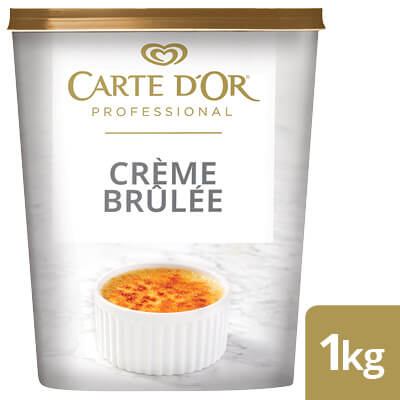CARTE D'OR Crème Brûlée - Here's a range of convenient, high-quality desserts that will save you time.