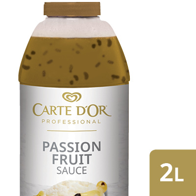 "CARTE D'OR Passion Fruit Sauce - Add the ""wow"" factor to your desserts with our range of ready to use sauces."