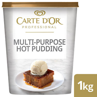 CARTE D'OR Multi-Purpose Hot Pudding Mix - Here's a range  of convenient, high-quality desserts that will save you time.