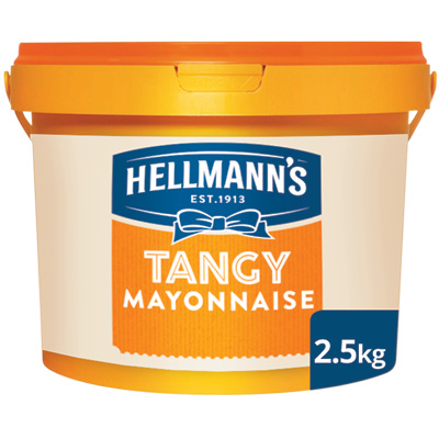 Hellmann's Tangy Mayonnaise 2.5kg - Our mayonnaise keeps salads looking and tasting fresher for longer.