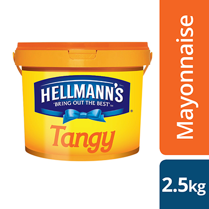 Hellmann's Tangy Reduced Oil Mayonnaise 2.5kg
