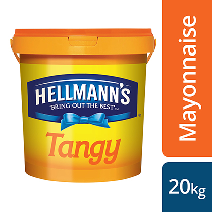 Hellmann's Tangy Reduced Oil Mayonnaise 20kg
