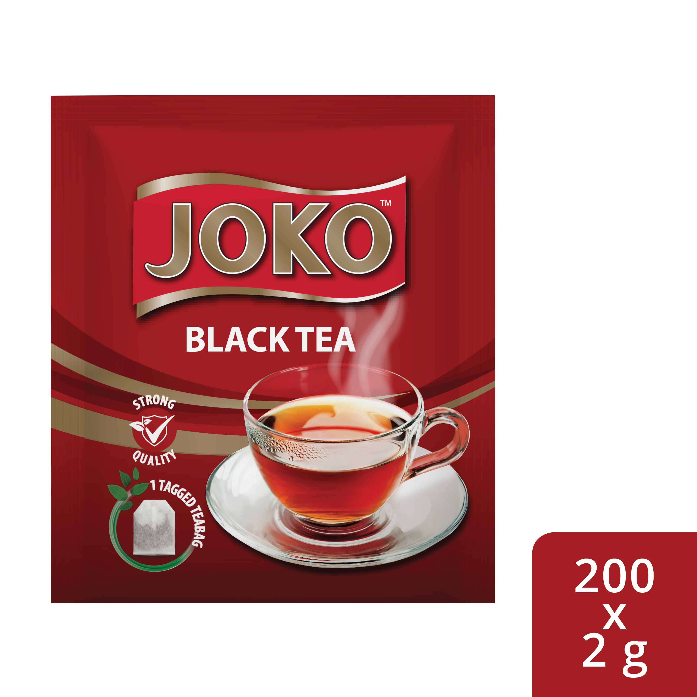 JOKO Black Tea 200 x 2 g Envelopes - Joko offers an enveloped Black & 100% Pure Rooibos that your guests will enjoy.