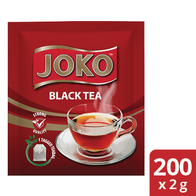 JOKO Black Tea 200 x 2 g Envelopes - Joko offers an enveloped Black & 100% Pure Rooibos that your guests will enjoy.