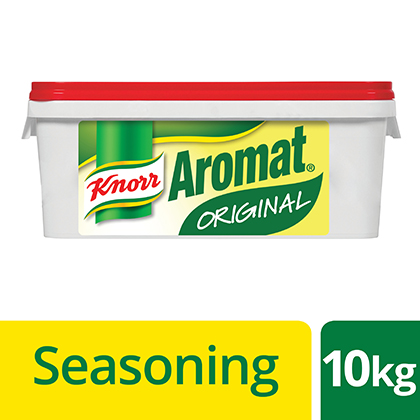 Knorr Aromat 10kg - Here is the unique flavour South Africans love.