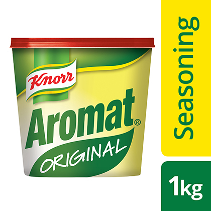 Knorr Aromat  - Here is the unique flavour South Africans love.