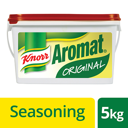 Knorr Aromat 5kg - Here is the unique flavour South Africans love.