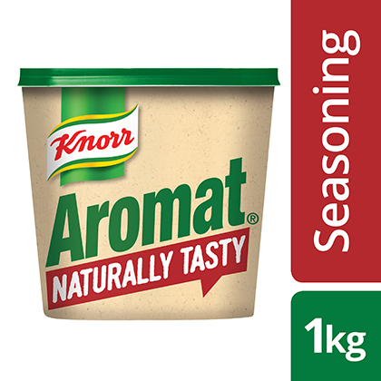 Knorr Aromat Naturally Tasty - I only trust natural ingredients in my dishes