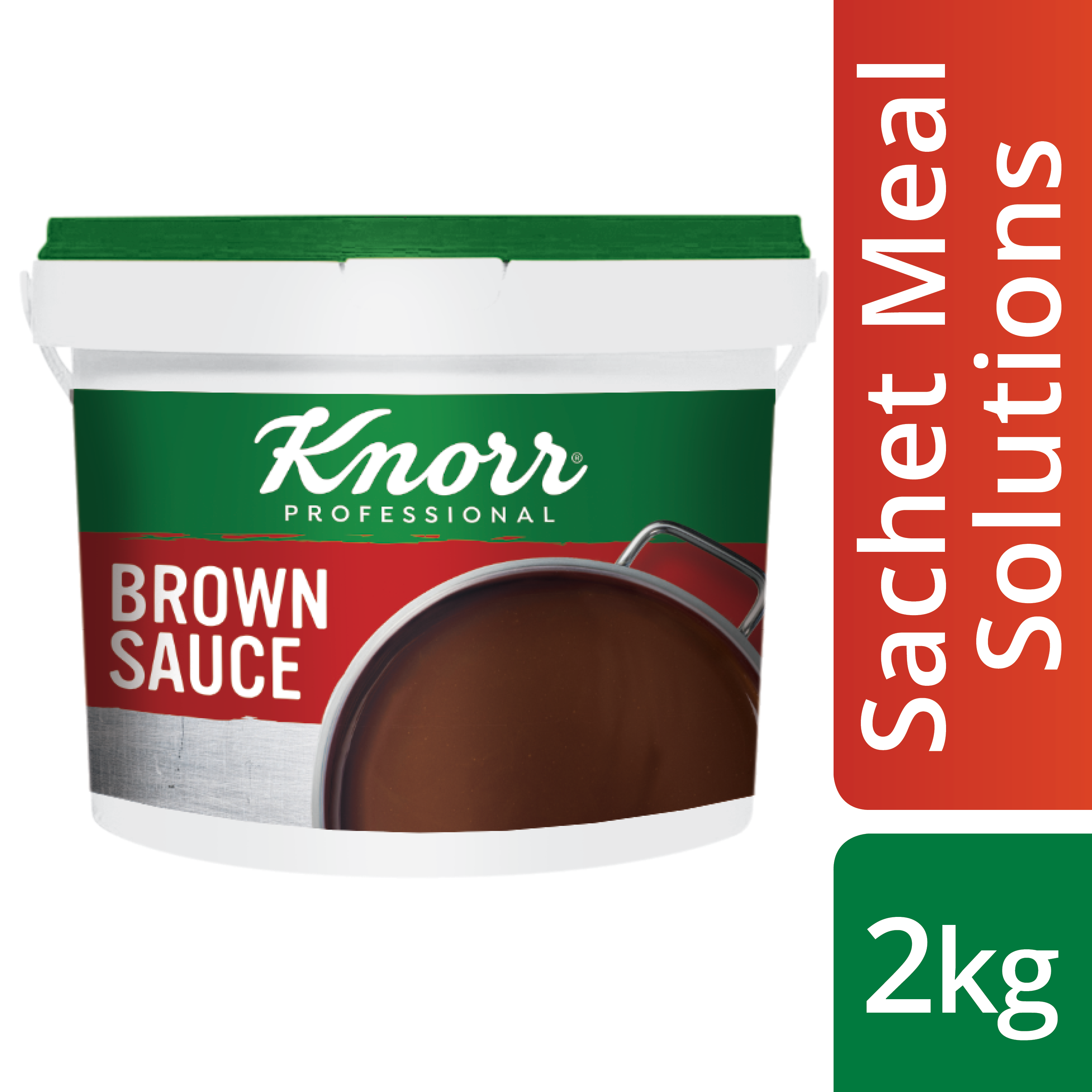 Knorr Brown Sauce 2kg - Here's a simple, pre-portioned sachet solution that gives you the consistency and flavour you need.
