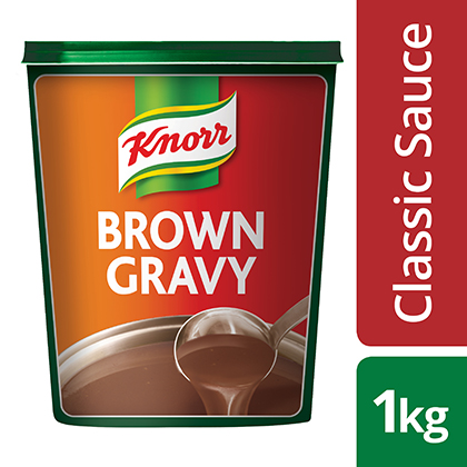 Knorr Classic Brown Sauce Gravy - Here's a gravy to help you deliver consistent taste.