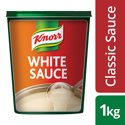 Knorr Classic White Sauce 1KG - Creamy, Versatile & Guaranteed Lump-Free*. Our Chefs create solutions balancing taste, convenience & nutrition. Order Knorr Classic White sauce now.