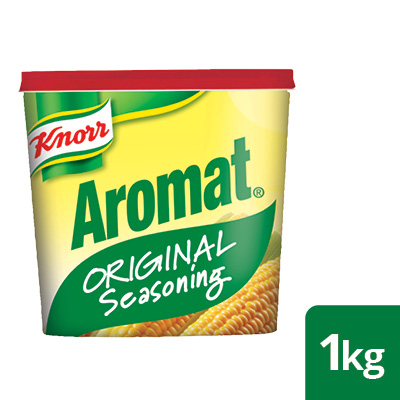 Knorr Professional Aromat Original - The ORIGINAL Aromat Spice that delivers consistent taste & quality every time. A South African brand! Conveniently Order Online, for Food service Professionals Only.