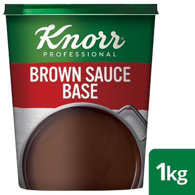 Knorr Professional Brown Sauce Gravy Base, 1 kg - Knorr Professional Brown Sauce Gravy Base delivers a scratch-like meaty flavour.