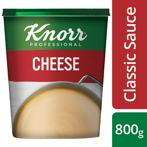 Knorr Professional Cheese Sauce Powder, 800 g - Here's a sauce to help you deliver consistent taste.