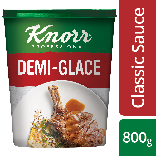 Knorr Professional Demi-Glace Base - Knorr Demi-Glace delivers a quality meaty flavour, made in minutes.