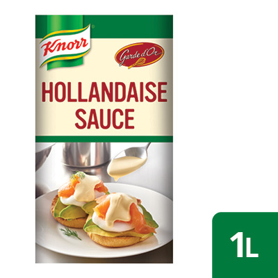 Knorr Professional Hollandaise Sauce - Here's our heat and pour Hollandaise that stands up to the pressure.