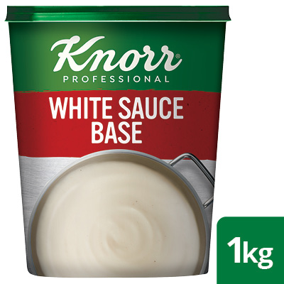 Knorr Professional White Sauce Base, 1 kg - Here's a white sauce made with flour, milk  and seasoning – just like one made from scratch.