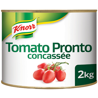 Knorr Tomato Pronto - Knorr Tomato Pronto guarantees the natural, fresh tomato taste every time.