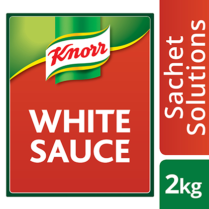 Knorr White Sauce 2kg - Here's a white sauce that's smooth every time.