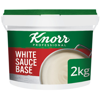 Knorr White Sauce 2kg - Here's a simple, pre-portioned sachet solution that gives you the consistency and flavour you need.