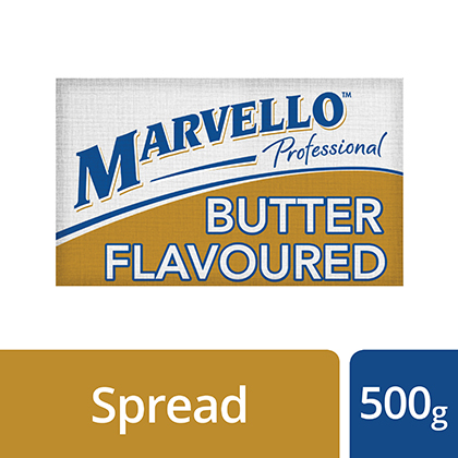Marvello Butter Flavoured - Chefs choose this Marvello for its buttery taste.