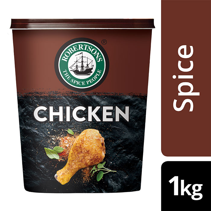 Robertsons Chicken Spice - BEST spices for Chicken, used by Chefs - ROBERTSONS Chicken Spice. Blended with pure Paprika, for perfectly seasoned grilled Chicken. Conveniently order online.