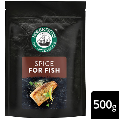 Robertsons Fish Spice Pack - New Robertsons spice packs deliver extraordinary flavour – no compromise.