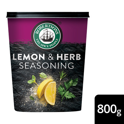 Robertsons Lemon & Herb Seasoning - Robertsons. A world of flavours, naturally.