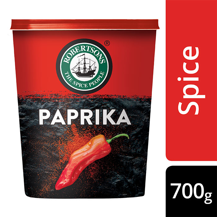 Robertsons Paprika  - Robertson's Paprika is a pure spice which enhances the warmth in your dish without adding extra heat.