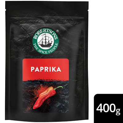 Robertsons Paprika Pack - New Robertsons spice packs deliver extraordinary flavour – no compromise.
