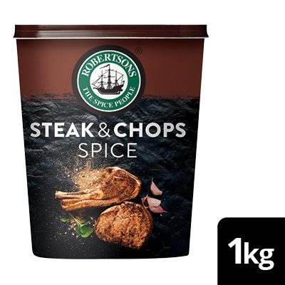 Robertsons Steak & Chops Spice  - Robertsons. A world of flavours, naturally.