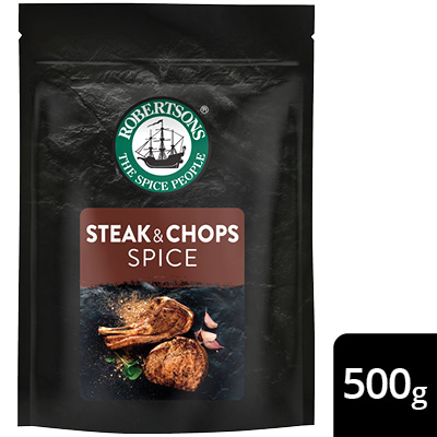 Robertsons Steak & Chops Spice Pack - New Robertsons spice packs deliver extraordinary flavour – no compromise.