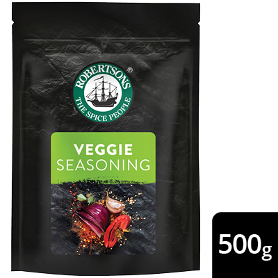 Robertsons Veggie Seasoning Pack - New Robertsons spice packs deliver extraordinary flavour – no compromise.